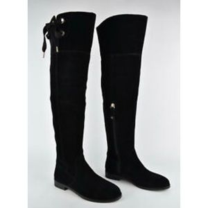 Kate spade over the knee suede boots